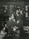 Salvation Army Christmas Treat for East End Children Photographic Print by Peter Higginbotham