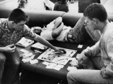 Asleep Amid a Monopoly Game Photographic Print by Shirley Baker