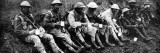 British Soldiers Having a Cup of Tea; First World War, 1916 Photographic Print