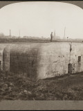 One of the Formidable German Dug-Outs Captured by the British in Bickendorf, Germany Photographic Print