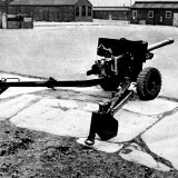 British 6-Pounder Anti-Tank Gun; Second World War, 1944 Photographic Print
