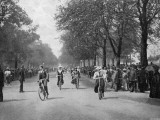 Cycling/Hyde Park 1900 Photographic Print