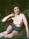 Micro Bikini Top 1950s Photographic Print