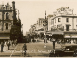 Rundle Street from King William Street, Adelaide, South Australia Papier Photo