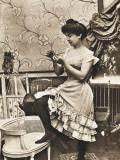 Parisian Prostitute Photographic Print