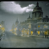 Smithfield Market by Night Photographic Print