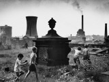 Playing in the Graveyard - Stockport, 1967 Photographic Print by Shirley Baker