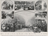 Paris-Madrid Race 1903 Photographic Print