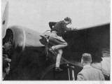 Earhart in Ireland Photographic Print