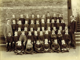 Kensington and Chelsea District School, Boys Group Photo Photographic Print by Peter Higginbotham