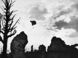 Observation Balloon over Ypres on the Western Front in Belgium During World War I in 1917 Photographic Print by Robert Hunt