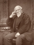 Robert Browning - the English Poet Photographic Print