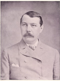 Sir Arthur Conan Doyle British Physician and Writer, Circa 1895 Photographic Print