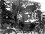Prince Hirohito of Japan in His Carriage, 1916 Photographic Print