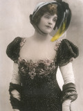 Gabrielle Rejane French Actress Photographic Print