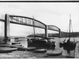 Royal Albert Bridge, River Tamar, Saltash, Corwall Photographic Print