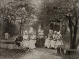 Elderly Inmates, Islington Workhouse, London Photographic Print by Peter Higginbotham