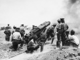 British Artillery at Gallipoli WWI Photographic Print by Robert Hunt