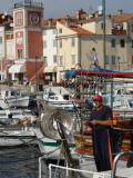 Harbour and Old Town, Rovinj, Croatia Photographic Print