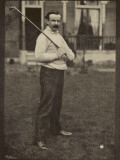David Lloyd George British Politician Relaxes in Golfing Pose Photographic Print