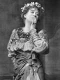 Ellen Terry English Actress in the Role of Imogen in Shakespeare's Cymbeline Photographic Print