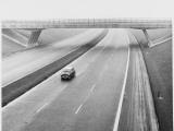 Empty Motorway 1960s Photographic Print