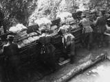 German Barricade WWI Photographic Print by Robert Hunt