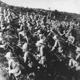 British Troops Attacking at Gallipoli During World War I Photographic Print by Robert Hunt