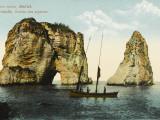 Pigeon Island, Off the Coast of Beirut, Lebanon Photographic Print