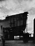 R.M.S. 'Queen Mary' under Construction, Clydebank, 1934 Photographic Print