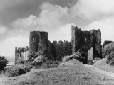 Manorbier Castle Photographic Print
