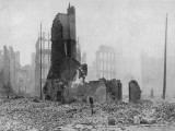 SF Earthquake Photograph Photographic Print