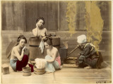 Japanese Home Bath Photographic Print