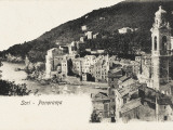 Panorama of Sori - Italy Photographic Print