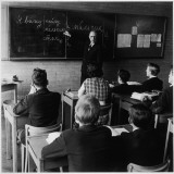 Pupils Learning Russian at Hatfield School Photographic Print by Henry Grant
