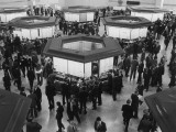 A Busy Scene at the London Stock Exchange Photographic Print