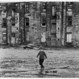 Solitary Boy, Glasgow Photographic Print by Henry Grant