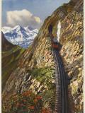 Mt Pilatus Railway Photographic Print