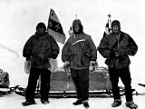 Lt. Shackleton, Captain Scott and Dr. Wilson, Antarctica Photographic Print
