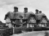 Reed Thatched Cottages Photographic Print