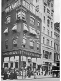 People at the Corner of Union Square and 16th Street, New York, Showing Brentano's Book Shop Photographic Print