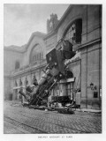 Montparnasse Accident Photographic Print