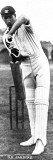 Douglas Jardine Batting for Oxford University, 1923 Photographic Print