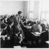 Knoll School for Boys, Hove a Teacher Amongst the Class Photographic Print by Henry Grant