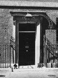 No 10 Downing Street Doorway Photographic Print