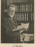 Paul Ehrlich, German Bacteriologist, Photographic Print