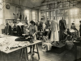 Dressmaker's Workshop Photographic Print by Peter Higginbotham