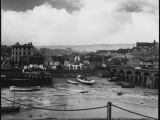 Low Tide at Folkestone Harbour, Kent, England on Rather a Dreary Old Day Photographic Print