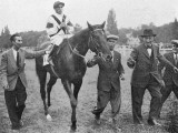 Nearco after Winning Grand Prix De Paris Photographic Print