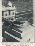Roof Fountain on the Roof of the Viceroy's House, New Delhi Photographic Print